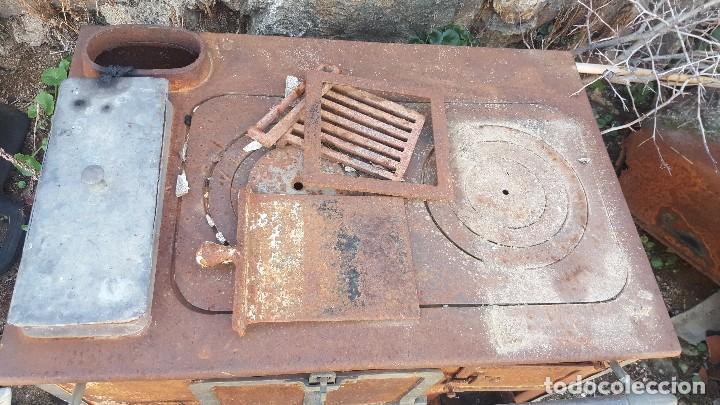 Antigüedades: Cocina antigua, para restaurar. - Foto 3 - 104091343