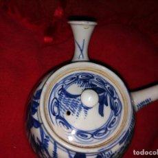 Antigüedades: IMPRESIONANTE EP. EDO INPORTANTE CERAMICA TETERA (1603-1868) A RARISIMA SIN FIRMA 447E. Lote 104105607