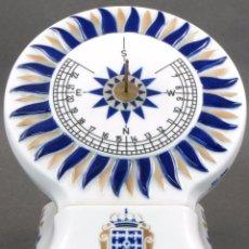 Antigüedades: RELOJ DE SOL CERÁMICA SARGADELOS DISEÑO DE J A BUSTABAD EDICION 852/3000. Lote 104114031