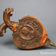 Antigüedades: ANTIGUO FUELLE INGLÉS, ÉPOCA VICTORIANA. PRECIOSO!!. Lote 104116407