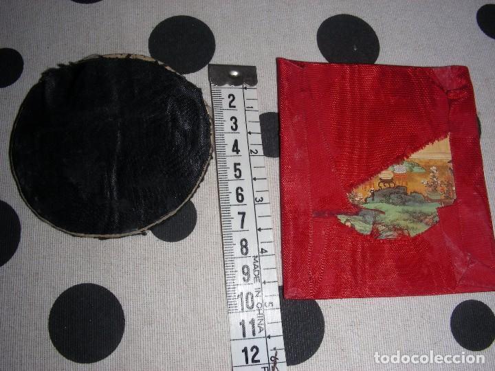 Antigüedades: ESCAPULARIOS , DETENTES. BORDADOS CORAZON - Foto 2 - 104175895