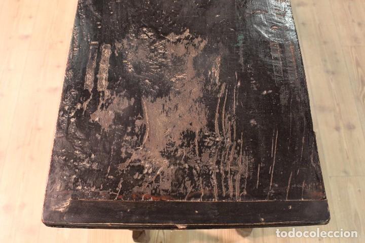 Antigüedades: Antigua consola oriental lacada del siglo XIX - Foto 6 - 104185175