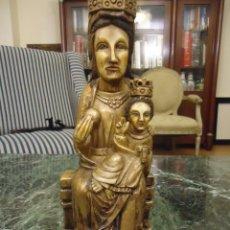 Antigüedades: NUESTRA SEÑORA DEL ESPINO. PATRONA DE SORIA. ALTO 25 CMS. Lote 104188827