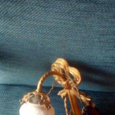 Antigüedades: APLIQUE TULIPA CRISTAL LABRADO. Lote 104237807