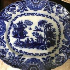 Antigüedades - Fuente grande sargadelos, azul cobalto - 104266970