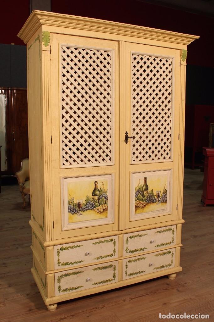 Armarios antiguos pintados muebles antiguos madrid mueble - Muebles antiguos pintados ...