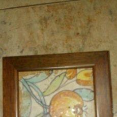 Antigüedades: AZULEJO BARROCO VALENCIANO DEL SIGLO XVIII DE LA POMETA. Lote 104299959