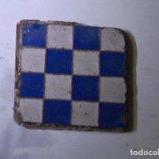 Antigüedades: OLAMBRILLA BALDOSA AZULEJO RAMOS REJANO TRIANA. Lote 104307371
