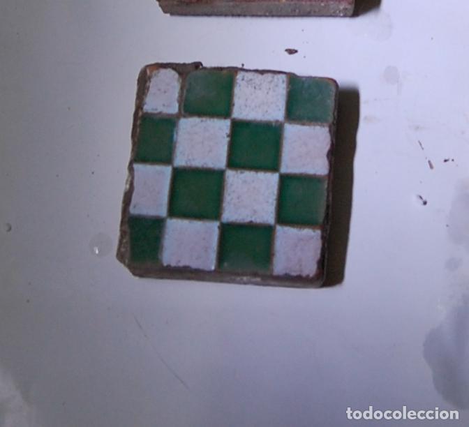 OLAMBRILLA BALDOSA AZULEJO RAMOS REJANO TRIANA (Antigüedades - Porcelanas y Cerámicas - Triana)