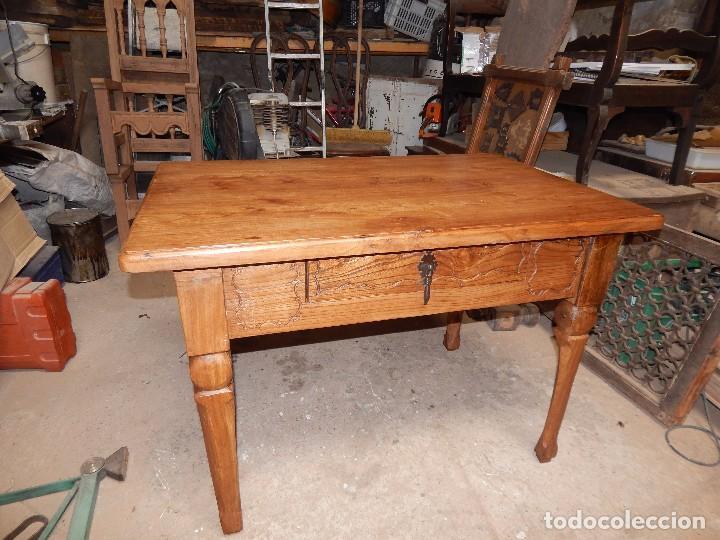 bella mesa de cocina madera de olmo xviii resta - Comprar Mesas ...