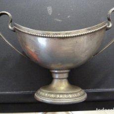 Antigüedades: PEQUEÑO JARRON OVALADO - EP NS - EPNS. Lote 104324919