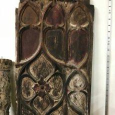 Antigüedades: TABLA PUERTA RETABLO, SIGLO XVIII. Lote 104327220