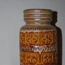 Antigüedades: JARRÓN DE CERÁMICA ALEMANA - WEST GERMANY - FAT LAVA - AÑOS 50-60 - ALTURA 27 CM.. Lote 104344611