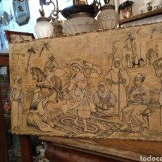 Antigüedades: PRECIOSO TAPIZ ANTIGUO. Lote 104346506