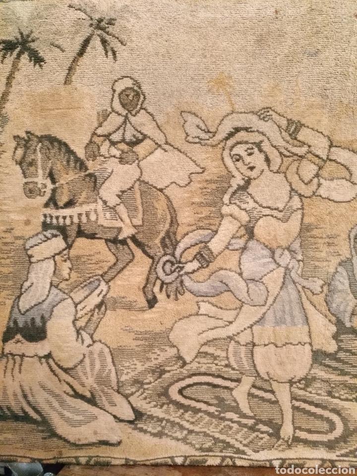 Antigüedades: PRECIOSO TAPIZ ANTIGUO - Foto 3 - 104346506