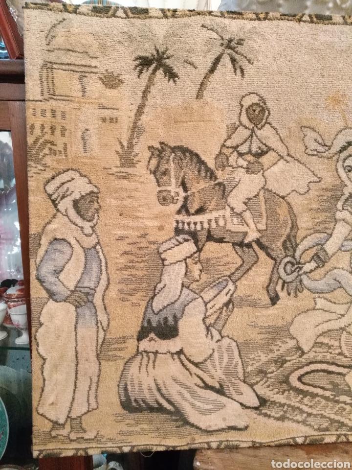 Antigüedades: PRECIOSO TAPIZ ANTIGUO - Foto 4 - 104346506