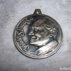 Antigüedades: GRAN MEDALLA CONMEMORATIVA CONGRESO MARIANO AÑO 1979 ZARAGOZA JOANNES PAULVS II. Lote 104362235