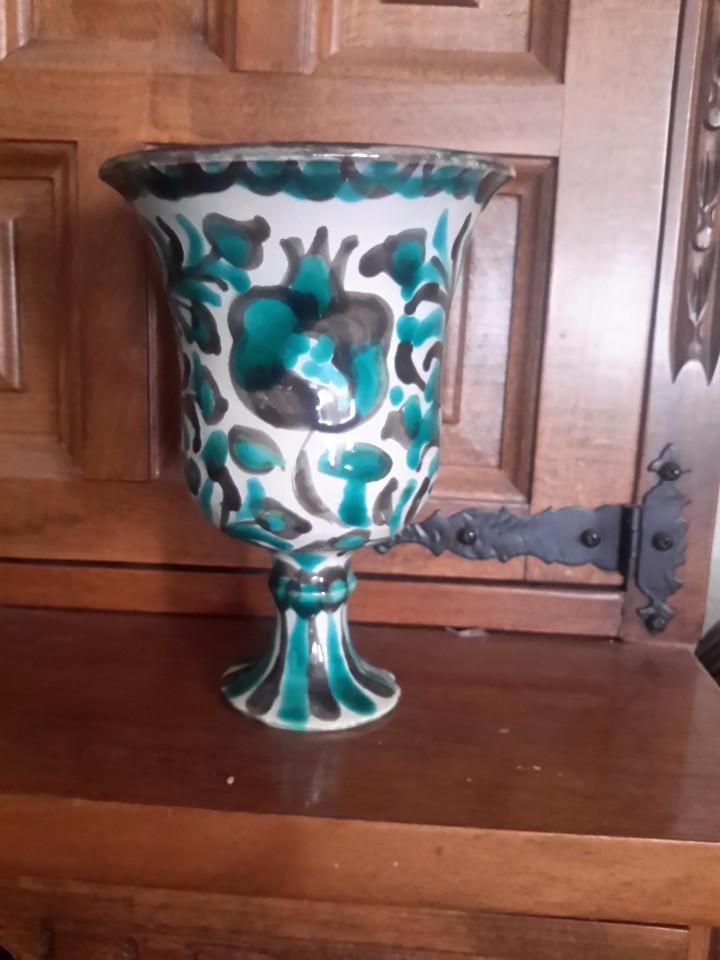 Antigüedades: Copa antigua de cerámica fajaluza - Foto 3 - 104372720