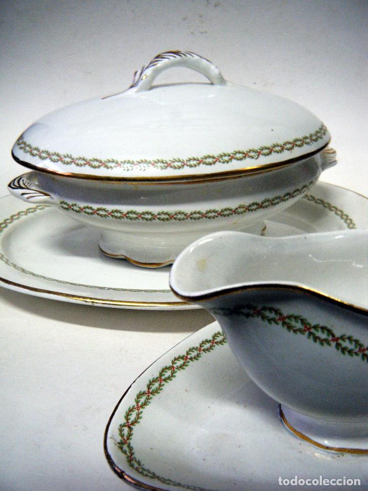 SOPERA, FUENTE Y SALSERA (Antigüedades - Porcelanas y Cerámicas - Otras)