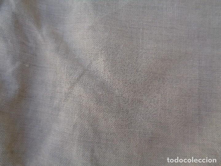 Antigüedades: 2 BONITAS CORTINAS ANTIGUAS EN SEDA BROCADA - Foto 13 - 104376995