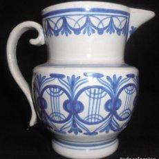 Antigüedades: JARRA DE CERAMICA MUY ANTIGUA DE MANISES, FIRMADA GM. Lote 104388035