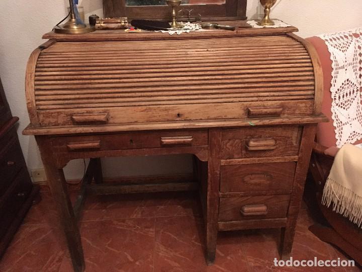Escritorio bureau comprar escritorios antiguos en - Muebles escritorios clasicos ...