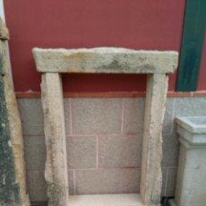 Antigüedades: MARCO DE VENTANA EN PIEDRA DE GRANITO AMARILLO. Lote 104434480