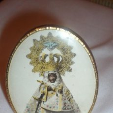 Antigüedades: VIRGEN EN MARCO OVALADO CON CRISTAL. Lote 104450311