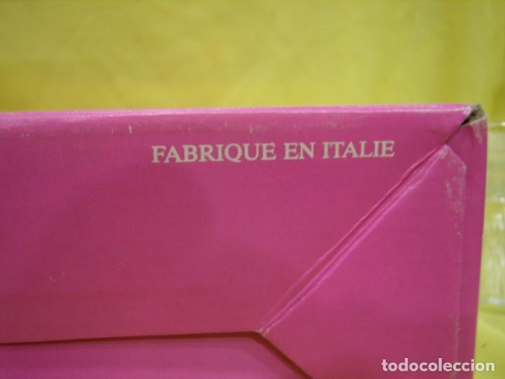 Antigüedades: Centro de mesa, frutero de cristal, fabricado en Italia, años 70, Nuevo sin usar. - Foto 3 - 104452879