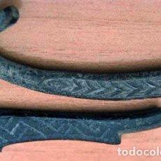 Antigüedades: FRAGMENTOS HEBILLAS / CULTURA VISIGODA. Lote 104454083