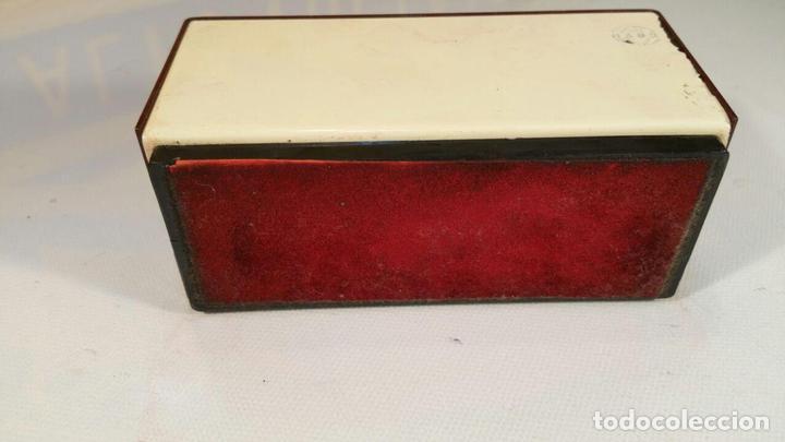 Antigüedades: Calendario Maor, años 70 - pulsadores manuales - Calendario perpetuo. modelo Perorsa - color granate - Foto 4 - 104469327