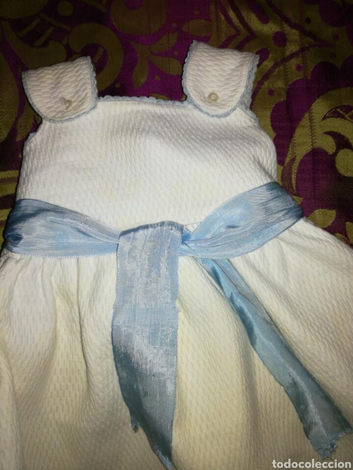 Antigüedades: Antiguo faldón bebé - Foto 2 - 104474294