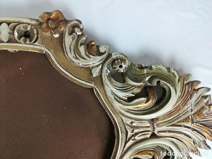 marco de espejo en madera - Comprar Marcos Antiguos de Cuadros en ...