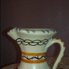 Antigüedades: CERAMICA TALAVERA. ANTIGUA JARRA MARCADA TALABRICENSE Nº17. . Lote 104505179