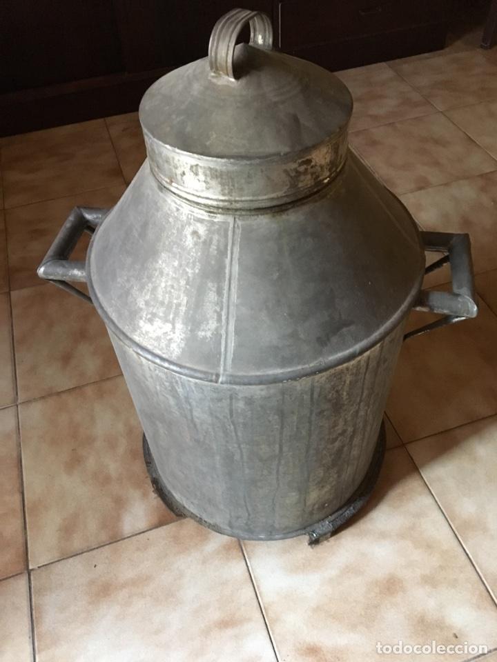 ZAFRA ACEITE HOJALATA 75 CM DE ALTURA, ANCHO 50CM CÁNTARA (Antigüedades - Técnicas - Rústicas - Utensilios del Hogar)