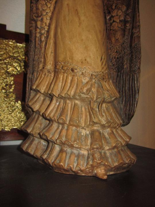 Antigüedades: Escultura Terracota Antonio Peyro Mezquita - Sevillana - Andaluza - - Foto 4 - 104517207