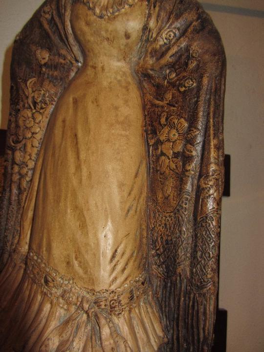 Antigüedades: Escultura Terracota Antonio Peyro Mezquita - Sevillana - Andaluza - - Foto 5 - 104517207