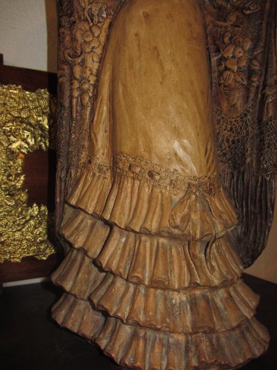 Antigüedades: Escultura Terracota Antonio Peyro Mezquita - Sevillana - Andaluza - - Foto 8 - 104517207
