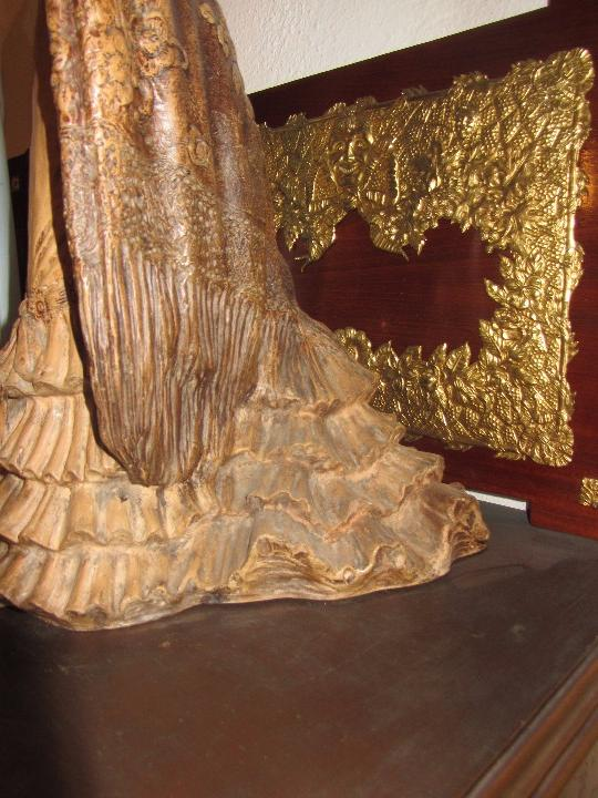 Antigüedades: Escultura Terracota Antonio Peyro Mezquita - Sevillana - Andaluza - - Foto 9 - 104517207