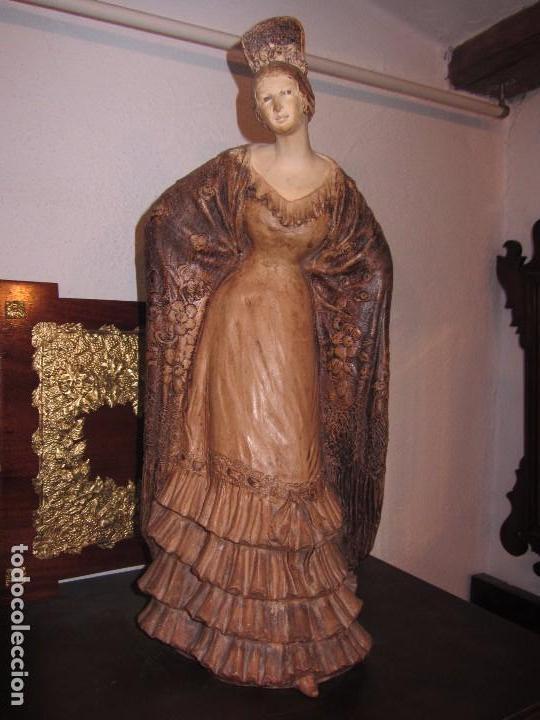 Antigüedades: Escultura Terracota Antonio Peyro Mezquita - Sevillana - Andaluza - - Foto 2 - 104517207