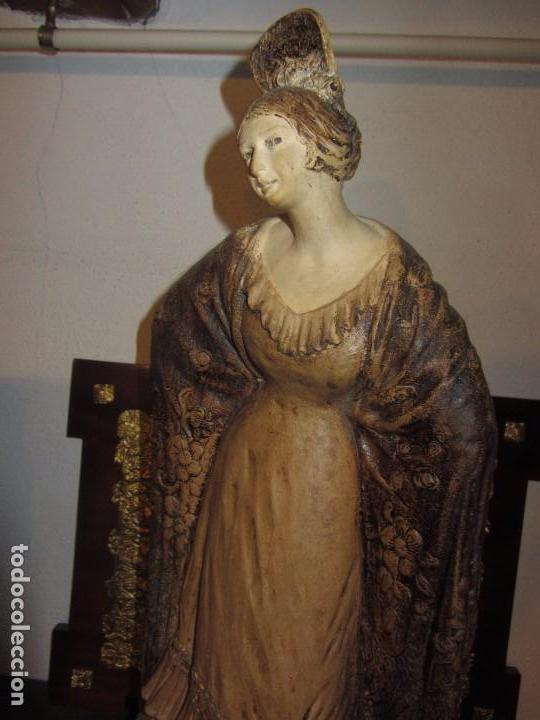 Antigüedades: Escultura Terracota Antonio Peyro Mezquita - Sevillana - Andaluza - - Foto 3 - 104517207