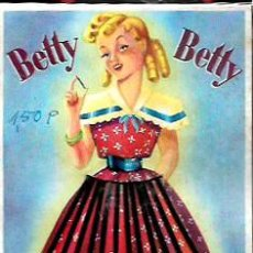 Antigüedades: ANTIGUO BLISTER * BETTY BETTY * CLIPS - FABRICADO EN ESPAÑA. Lote 195345717