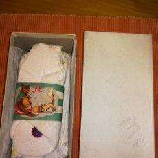 Antigüedades: CAJITA CON CALCETINES NIÑO - AÑOS 40 - JULIO CARDONA GIRONS - MALGRAT - A ESTRENAR - 6 PARES. Lote 104543099