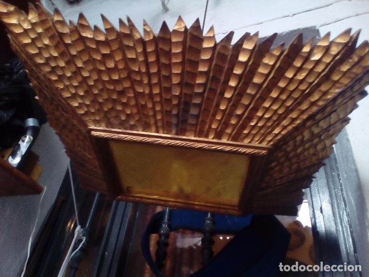 LAMPARA TECHO MADERA (Antigüedades - Iluminación - Lámparas Antiguas)