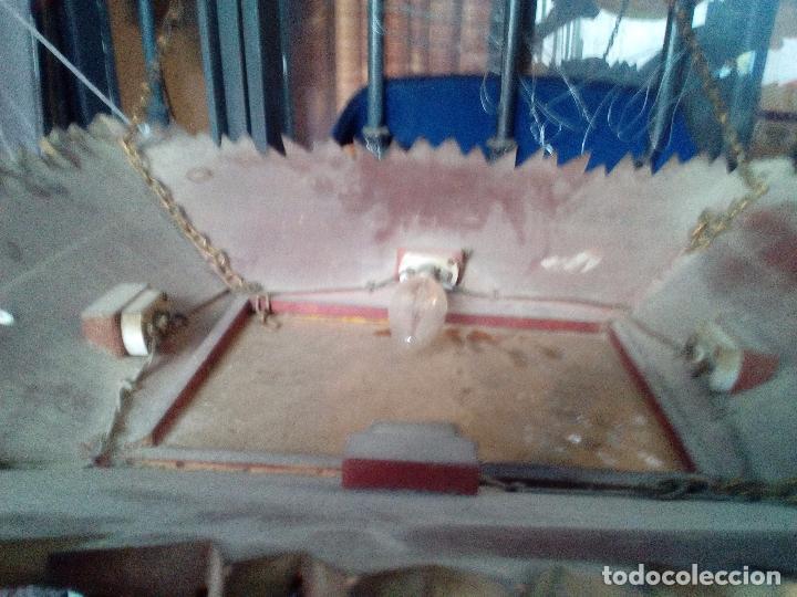 Antigüedades: LAMPARA TECHO MADERA - Foto 2 - 104547059