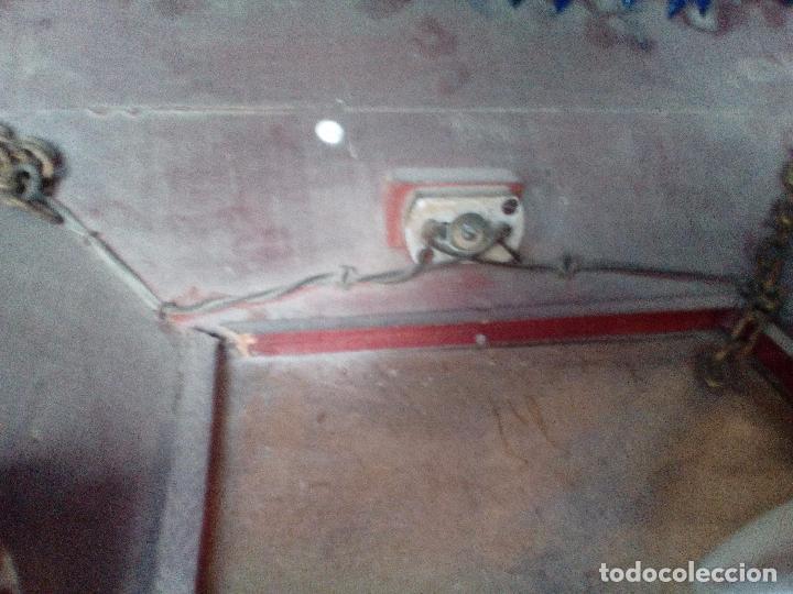 Antigüedades: LAMPARA TECHO MADERA - Foto 4 - 104547059