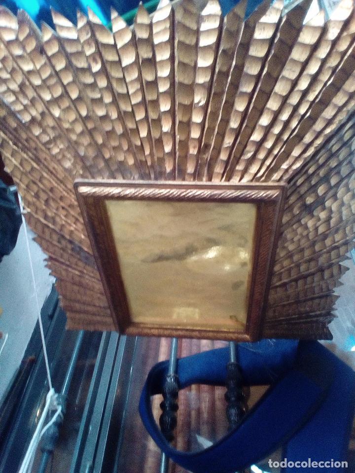 Antigüedades: LAMPARA TECHO MADERA - Foto 8 - 104547059