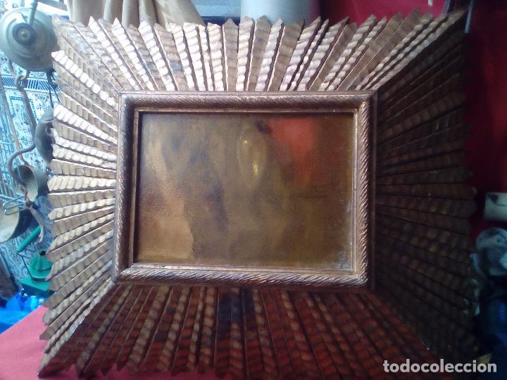 Antigüedades: LAMPARA TECHO MADERA - Foto 9 - 104547059