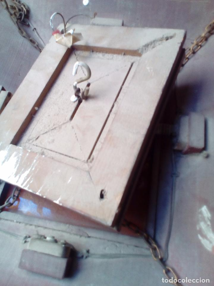 Antigüedades: LAMPARA TECHO MADERA - Foto 10 - 104547059