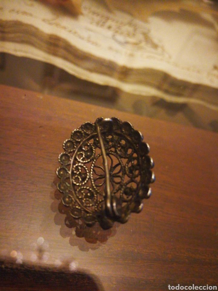 Antigüedades: Pequeño broche charro antiguo. Salamanca - Foto 2 - 104555780